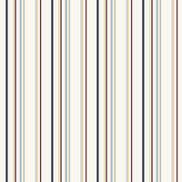 York Wallcoverings JE3709 Kids Book Wide Multi Stripe Wallpaper - White - N/A