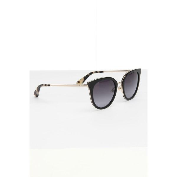 51 mm Havana Gold Kate Spade Women/'s Jazzlyn//s Round Sunglasses