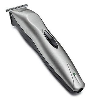 Andis 24025 14-Piece Cord/Cordless Beard And Mustache Trimmer Kit Light Grey