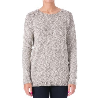 Tibi Womens Boucle Metallic Tunic Sweater - XS