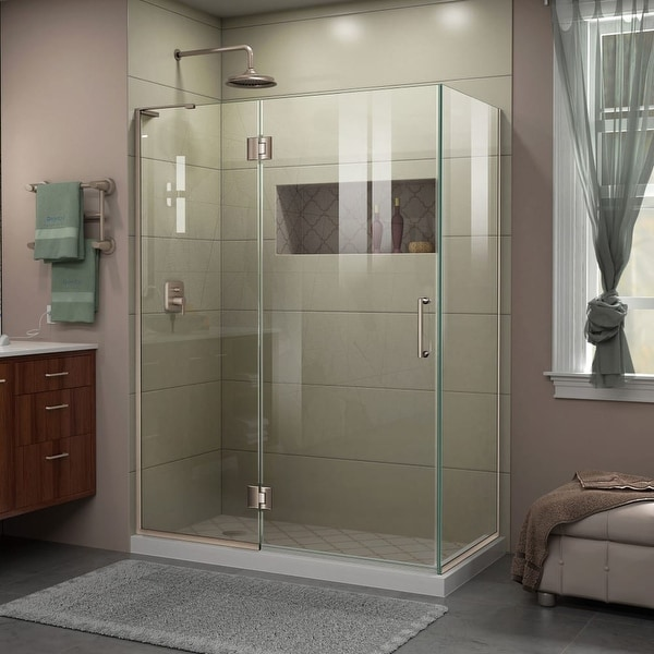 Shop Dreamline E32430l Unidoor X 72 High X 48 38 Wide X 30 Deep