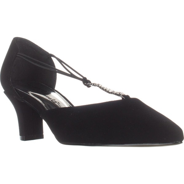 Easy Street Moonlight Dress Pumps, Black