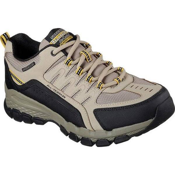 58816dbb6c9d8 Skechers Men  x27 s Relaxed Fit Outland 2.0 Rip-Staver Trail Shoe Taupe