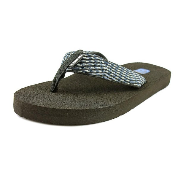 Teva Mush II Men Open Toe Synthetic Blue Flip Flop Sandal