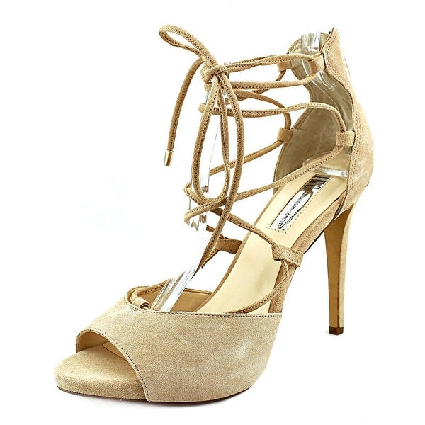INC International Concepts Sabba Women Open Toe Suede Sandals