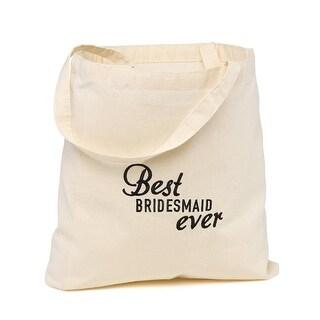 Hortense B. Hewitt Best Ever Wedding Party Tote Bags - Bridesmaid
