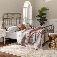 Middlebrook Designs Classic Metal Pipe Bed Deals