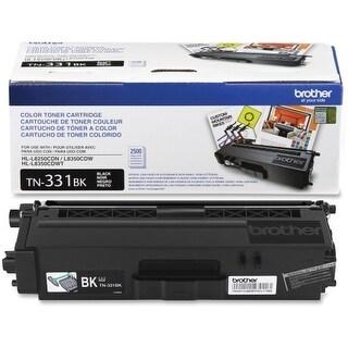 Brother TN331BK Brother TN331BK Toner Cartridge - Black - Laser - 2500 Page