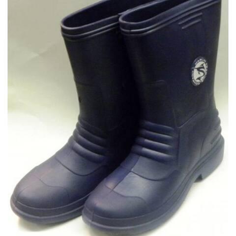 Marlin Male Lightweight Deck Boots, Navy, 10