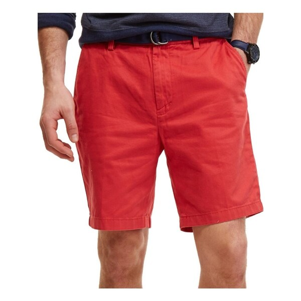 Nautica Mens Deck Casual Shorts Twill Classic Fit
