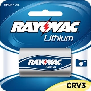 Rayovac RLCRV3-1A Rayovac RLCRV3-1A, Digital Photo Lithium Carded CRV3 1-Pack, 3.0 Volt (6 packs/case) - CR V3 - Lithium (Li) -