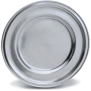 """Pack of 2 Classic Hand Crafted Statesmetal Kitchen Dining Plates 10.5"""""""