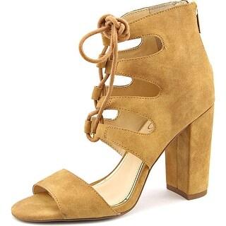 Jessica Simpson Loreez Women  Open Toe Synthetic Brown Sandals