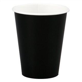 12oz Black Paper Cups