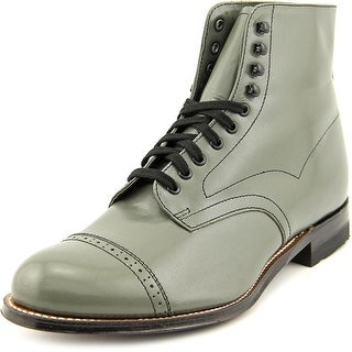 Stacy Adams Madison 00015 Men W Cap Toe Leather Gray Boot