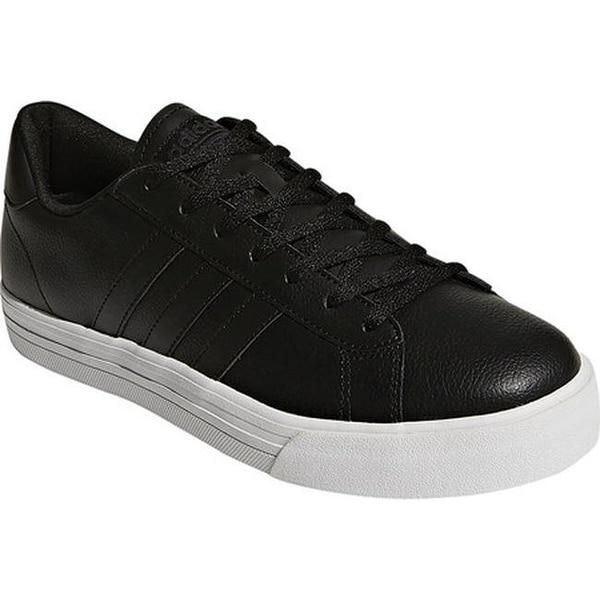 eb54a2a47a7 adidas Men  x27 s NEO Cloudfoam Super Daily Leather Sneaker Core Black Core