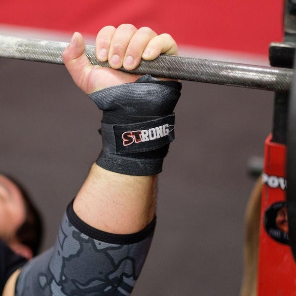 724868b07f Sling Shot STrong Wrist Wraps by Mark Bell - IPF elastic weight lifting  supports