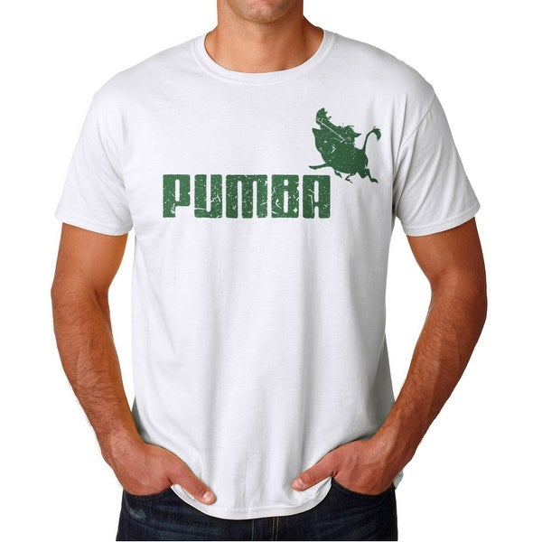 7ffd9b69477 Shop Pumba Men's White T-shirt - Free Shipping On Orders Over $45 -  Overstock - 17065769