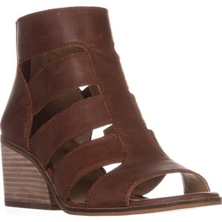 Lucky Brand Sortia Caged Sandals, Rye