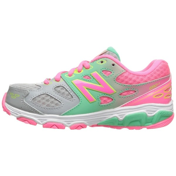 e14fa410 Shop Kids New Balance Girls kr680gky Low Top Lace Up Running ...