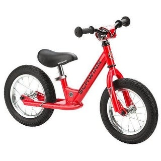 SCHWINN Bikes Toddler BALANCE BIKE, 12 Inch Without Pedals KIDS BICYCLE, Red