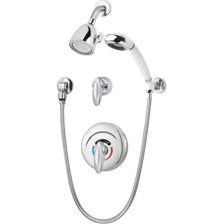 Symmons 1-117-FS-X-1.5 1.5 GPM Shower System with Hand Shower