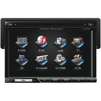 "Power Acoustik Pd-710B 7"" Single-Din In-Dash Lcd Touchscreen Dvd Receiver (With Bluetooth(R))"