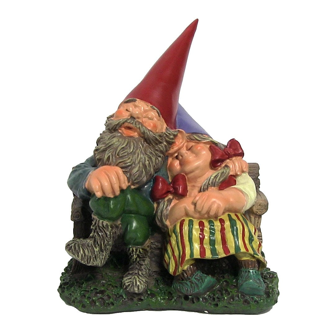Sunnydaze Woodland Garden Gnomes - Style Options Available, Must Choose - Thumbnail 1