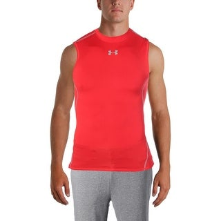 Under Armour Mens Tank Top Heat Gear Fitness