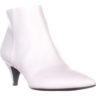 Circus Sam Edelman Kirby Kitten Heel Ankle Boots, Bright White