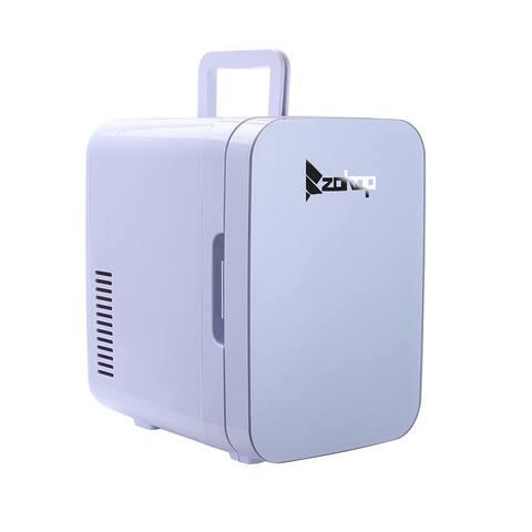 ZOKOP 6L/26L Electric Mini Portable Fridge Cooler AC/DC Portable Thermoelectric System 2Colors