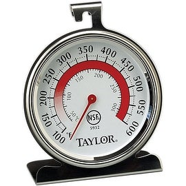 "Taylor 5932 Oven Thermometer, 2-1/2"" x 2-3/4"""