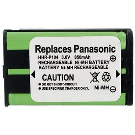 Replacement Panasonic KX-TG2344 NiMH Cordless Phone Battery