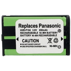Replacement Panasonic KX-TG5240 NiMH Cordless Phone Battery