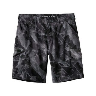 Legendary Whitetails Mens Coastal Stretch Cargo Shorts - big game carbon camo