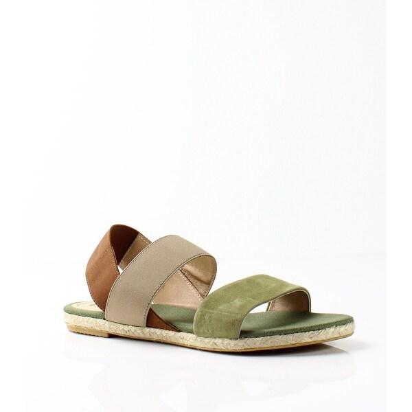 Vidorreta NEW Green Brown Women's Shoes Size 6M Leo Suede Sandal