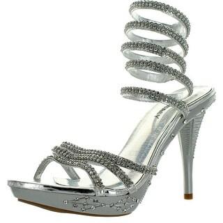 Delicacy Womens Delicacy-02 High Heel Platform Sandals