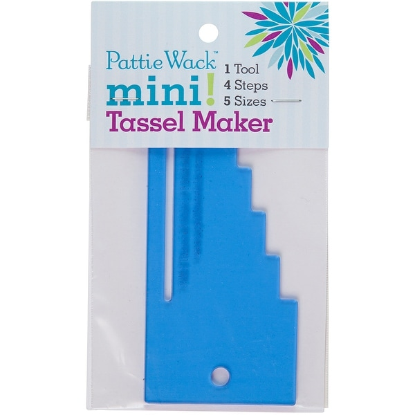 """Pattiewack Designs Mini Tassel Maker 5.5""""X2.5""""-"""