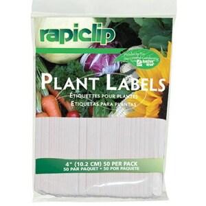 Luster Leaf 827 4 in. Plant Labels, 50 Pack
