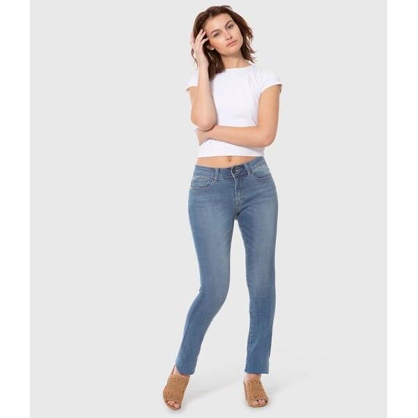 Lola Kristine-MLB, Mid rise Straight Jeans
