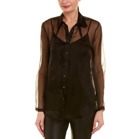 Nicole Miller Artelier Silk Blouse