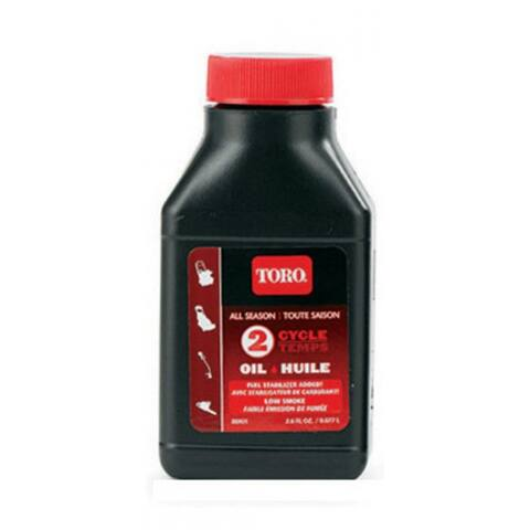 Toro 38901 2-Cycle All Season Oil, 2.6 Oz