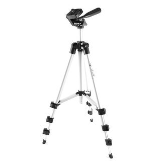 Unique Bargains Metal 3 Section Legs Video Camcorder Camera Tripod Stand 1M Height