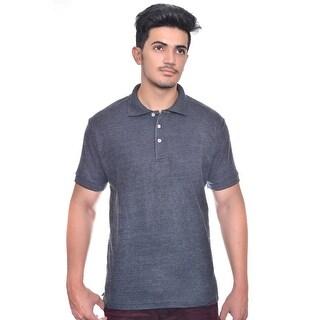 Men's 100% Cotton Short Sleeve Pique Polo Shirt