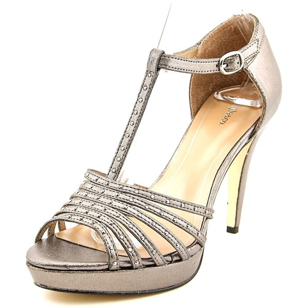 Style & Co Ceejay Women Pewter Sandals