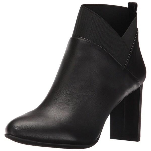 Nine West Women's Kalette Leather Ankle Bootie