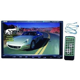 "Pyle 7"" Motorized Touch Screen Double Din"