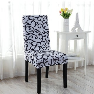 Beau Unique Bargains Stretch Dining Chair Cover