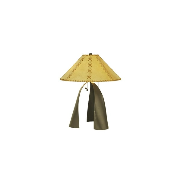 Shop Meyda Tiffany 50887 Three Light Table Lamp Timeless Bronze