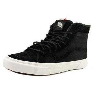 Vans Sk8-Hi Mte Round Toe Canvas Sneakers